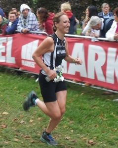 It's always easy to smile at the finish line!