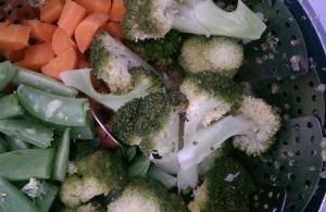Steaming veg
